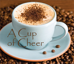 cup of cheers for coffee lovers